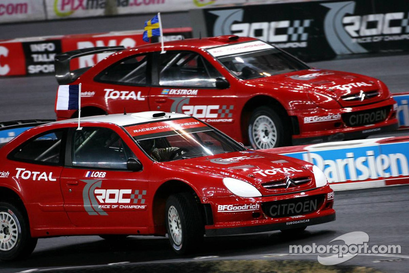 Superfinal 1: Sébastien Loeb and Mattias Ekström