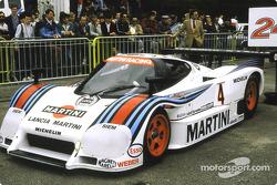 #4 Martini Lancia LC2:  Bob Wollek, Alessandro Nannini