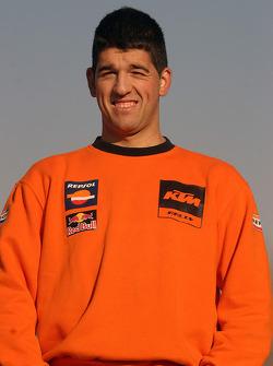 Team Repsol presentation: Miquel Pujul, mechanic of Jordi Viladoms