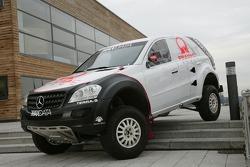Team MAXDATA Mercedes-Benz presentation in the Unimog Museum in Gaggenau: M-Class prototype