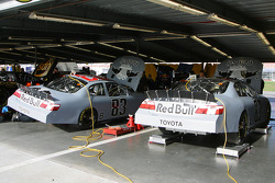 Red Bull Toyota garage area