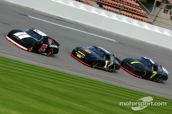 Kasey Kahne, Martin Truex Jr. and P.J. Jones