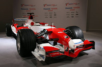 Toyota TF107 launch, Cologne, Germany