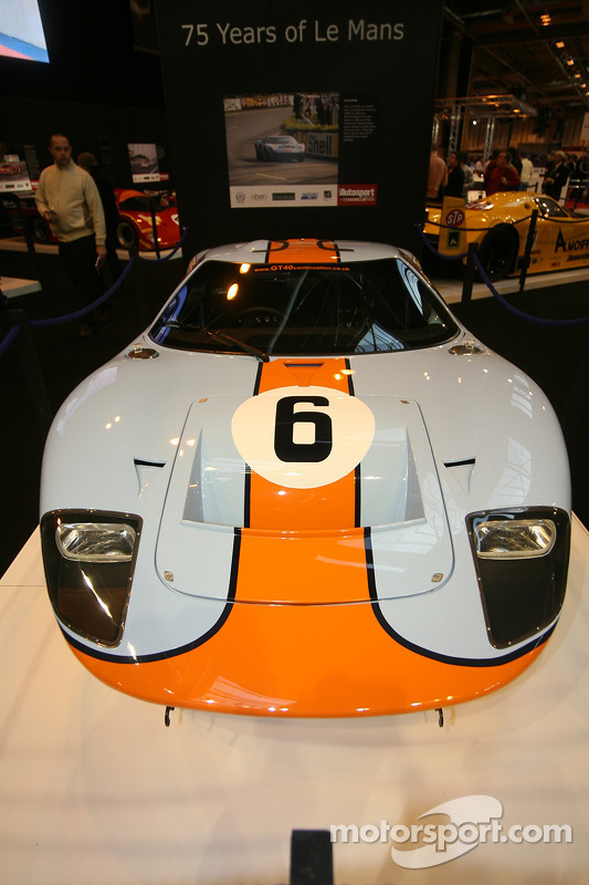 75 Years of Le Mans display: Ford GT40
