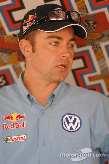 Volkswagen Motorsport press conference: Giniel de Villiers