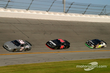 Kurt Busch, David Gilliland and Regan Smith