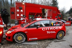 Sébastien Loeb in the Citroën C4 WRC
