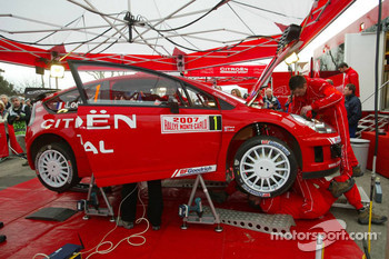 Citroën Total WRT service area