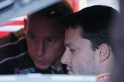 Tony Stewart and Andy Wallace