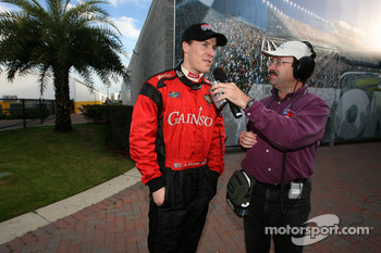 Interview for pole winner Alex Gurney