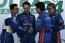 Scott Pruett, Max Angelelli, Jeff Gordon and Wayne Taylor