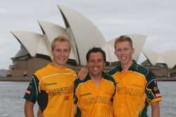 Ian Dyk, Barton Mawer and Karl Reindler
