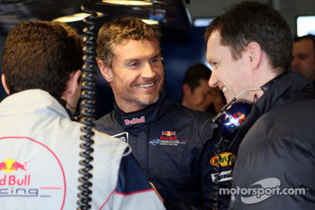 David Coulthard and chief engineer Paul Monaghan