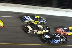 Ryan Newman, Mark Martin and Jimmie Johnson