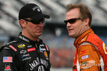 Clint Bowyer and Kenny Wallace