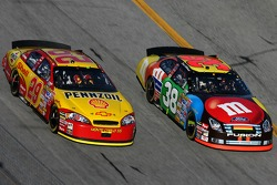 Kevin Harvick and David Gilliland