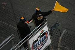 Yellow flag out