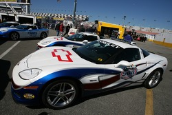 The Chevy Corvette pace car for the 2007 Daytona 500