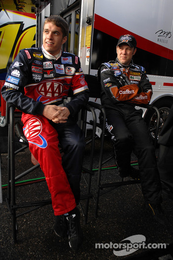 Matt Kenseth and David Ragan