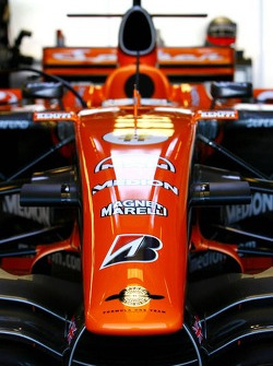 Spyker F1 Team, F8-VII, Detail