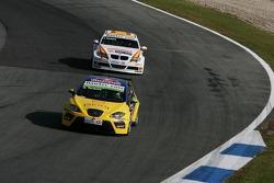 Gabriele Tarquini, SEAT Sport, SEAT Leon and Felix Porteiro, BMW Team Italy-Spain, BMW 320si WTCC
