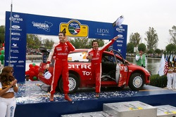 Podium: 4th place Daniel Sordo and Marc Marti