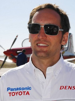 Franck Montagny, Test Driver, Toyota F1 Team - Flight with the RAAF Roulettes