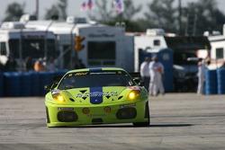 #61 Risi Competizione Ferrari 430 GT: Tracy Krohn, Nic Jonsson, Colin Braun