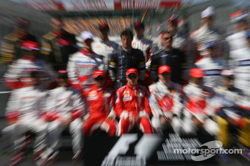 Formula 1, Group Drivers picture, Kimi Raikkonen, Scuderia Ferrari