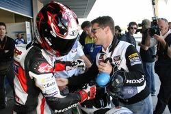 Carlos Checa, fastest on Friday