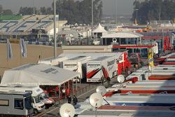 Jerez paddock