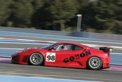 #98 Ice Pol Racing Team Ferrari F430 GT: Yves Lambert, Christian Lefort