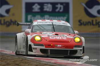 #97 BMS Scuderia Italia Porsche 997 GT3 RSR: Emmanuel Collard, Matteo Malucelli