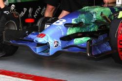 Front Wing of Honda RA107