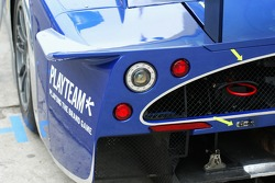 Detail of the Scuderia Playteam Sarafree Maserati MC 12 GT1
