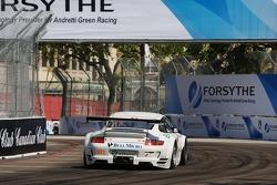 #54 Team Trans Sport Racing Porsche 911 GT3 RSR: Tim Pappas, Terry Borcheller, Marc Basseng