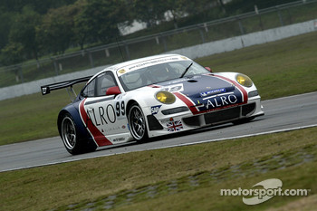 #99 Tech9 Motorsport Porsche 997 GT3 RSR: Leo Machitski, Sean Edwards