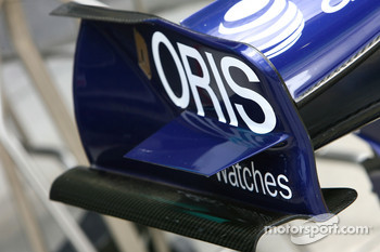 WilliamsF1 Team, FW29, Front wing endplate detail