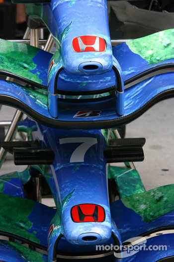 Honda Racing F1 Team, RA107, Front wings