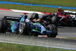 Jenson Button, Honda Racing F1 Team , Scott Speed, Scuderia Toro Rosso