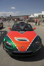 Mazda Miata pace car