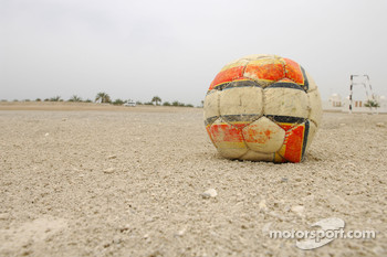 Soccer field in Bahrain