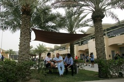 Fernando Alonso, McLaren Mercedes and Ron Dennis, McLaren, Team Principal, Chairman
