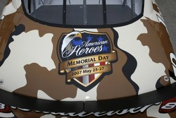 Dale Earnhardt Jr. and Budweiser salute the troops with two military-themed paint schemes and collectible diecasts