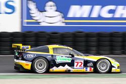 #72 Luc Alphand Aventures Corvette C6-R: Luc Alphand, Patrice Goueslard, Jérôme Policand