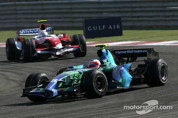 Rubens Barrichello, Honda Racing F1 Team, RA107, Jarno Trulli, Toyota Racing, TF107