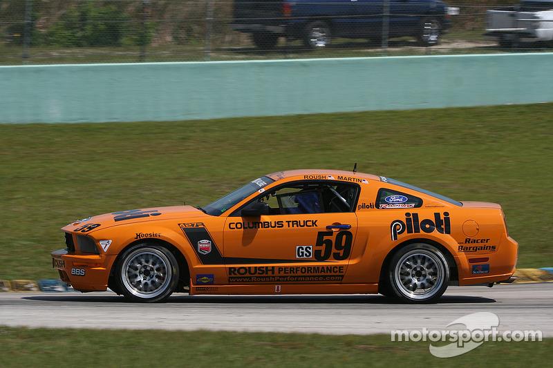 #59 Rehagen Racing Mustang GT: Jack Roush, Dean Martin