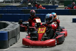 Go-kart celebrity race: Joey Hand