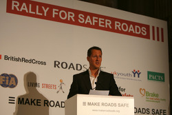 UN Rally for Safer Roads, Michael Schumacher, Scuderia Ferrari, Advisor