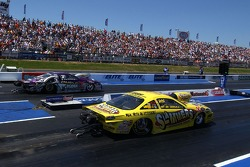Jeg Coughlin Jr. (foreground) and Greg Stanfield